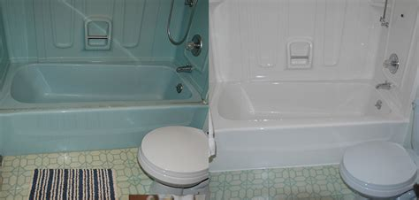 how to clean a reglazed bathtub before and after mdl bath and kitchen refurbishingmdl