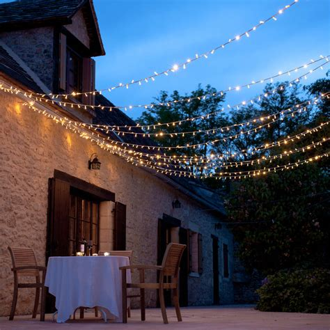 Outdoor Hanging Patio Lights Patio Lighting Ideas The Garden