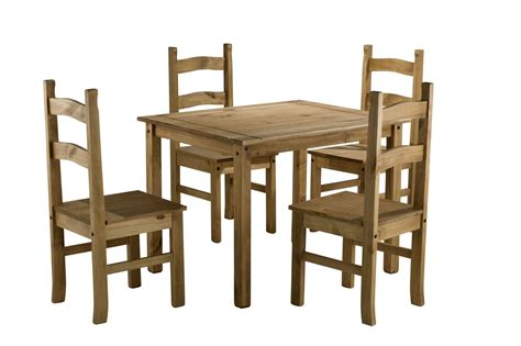 corona pine dining table corona small mexican pine dining table 4 chairs solid