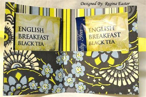 tea bag holder card template the cutting cafe tea bag holder