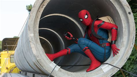 1920x1080 Peter Parker Spiderman Homecoming Laptop Full HD