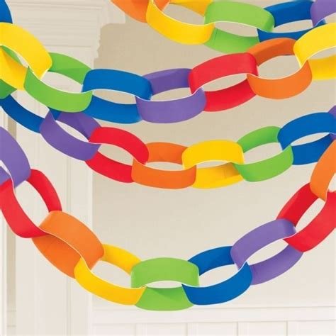 How To Make Paper Chain - 25 unique paper chains ideas on day