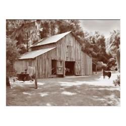 fashioned barn fashioned barn postcard in sepia zazzle