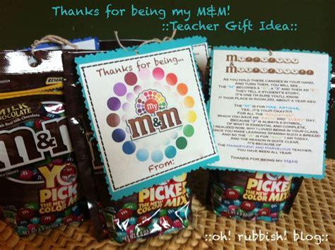 thanks for being my m thanks for being my m m gift idea