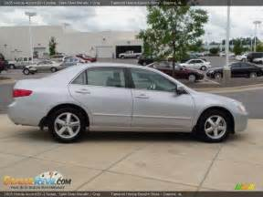 2005 honda accord ex l sedan satin silver metallic gray
