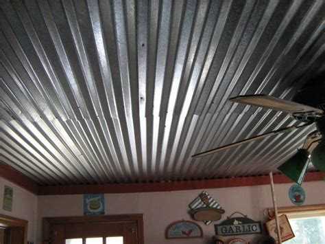 Corrugated Tin Ceiling by 25 Best Ideas About Corrugated Tin Ceiling On