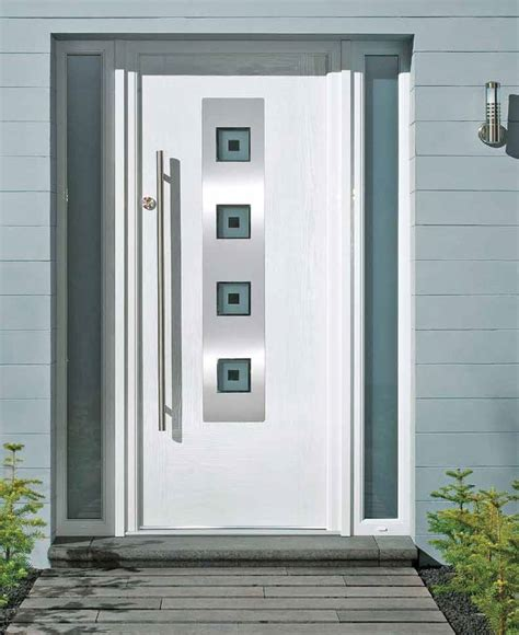 White Composite Front Doors Pin By Hillview Windows On Contemporary Doors