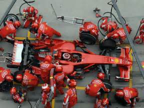 Pit Stop This Fascinating Compares Pit Stops From Formula 1