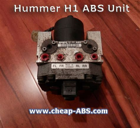 cheap abs module repair for hummer h1 and h2