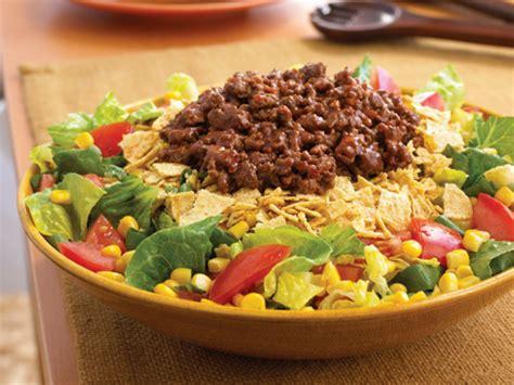beef taco salad mexican beef taco salad