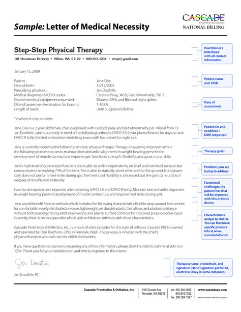 Letters Medical Necessity Letter And Best Free Home Design Idea Inspiration Letter Of Necessity For Physical Therapy Template