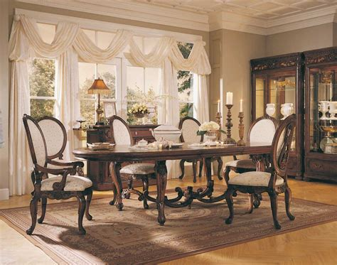 mcclintock dining room furniture american drew mcclintock home renaissance dining collection d722 770r