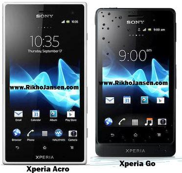 Hp Sony Xperia Anti Air smartphone anti air dari sony xperia go dan xperia acro s hp pilihan