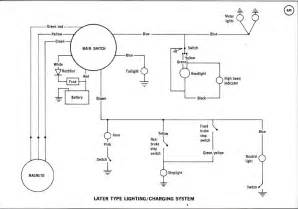 1974 yamaha dt 360 wiring diagram images search