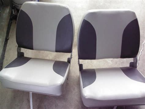 double wide back to back boat seats boat seats for sale