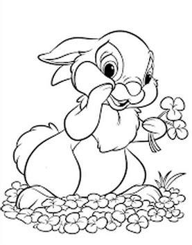 belajar menggambar kelinci dan mewarnainya belajar mewarnai