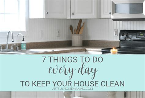 7 Tips For Keeping Your Purse Clean by 7 Things To Do Every Day To Keep Your House Clean Artful