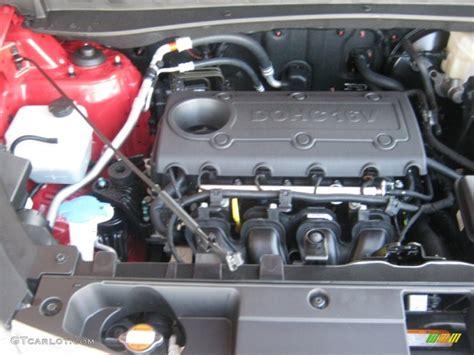 Kia Sportage Motor 2012 Kia Sportage Lx 2 4 Liter Dohc 16 Valve Cvvt 4