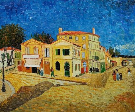 house paintings vincent van gogh vincent s house in arles the yellow house
