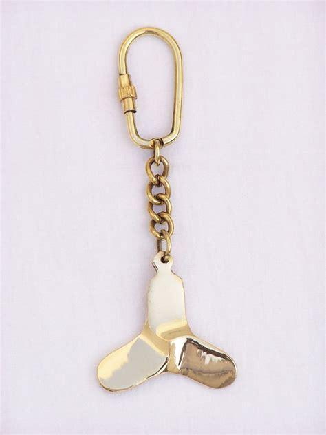 boat propeller keychain buy solid brass titanic propeller key chain 5 inch