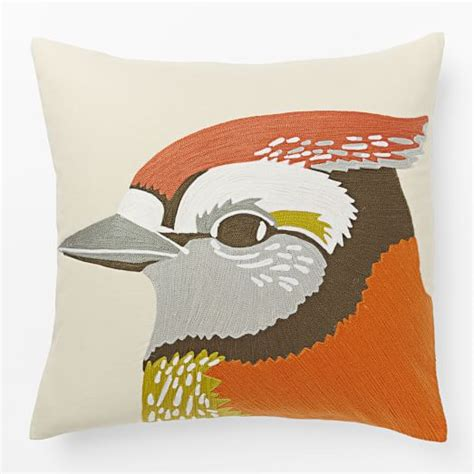 Crewel Pillow Covers by Crewel Pillow Cover West Elm