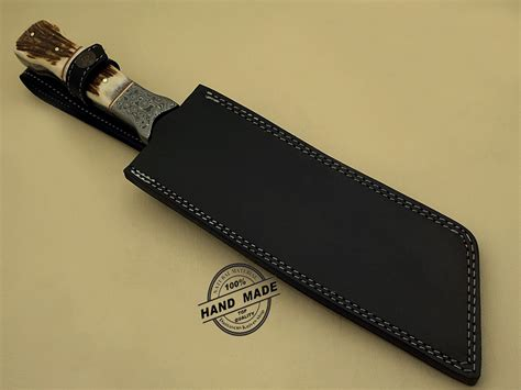 Best Handmade Knives - damascus bowie knife custom handmade damascus steel