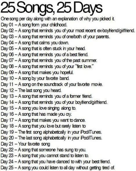 day song 25 songs day 6 you re my best friend self it s