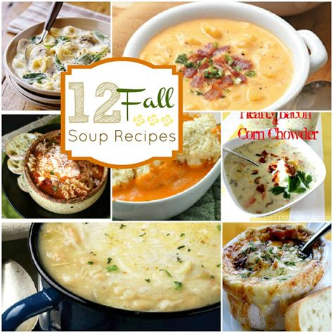 12 warm tasty fall soup recipes the crafted sparrow