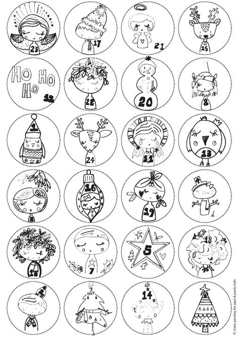 printable colour in advent calendar advent calendar free printable paul paula