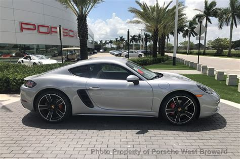 porsche cayman coupe 2018 new porsche 718 cayman s coupe at porsche west