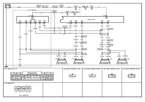 nissan xterra speaker wiring diagram get free image