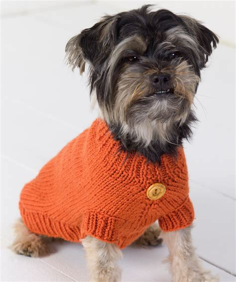Pattern For Dog Sweaters Free | dog sweater knitting pattern a knitting blog