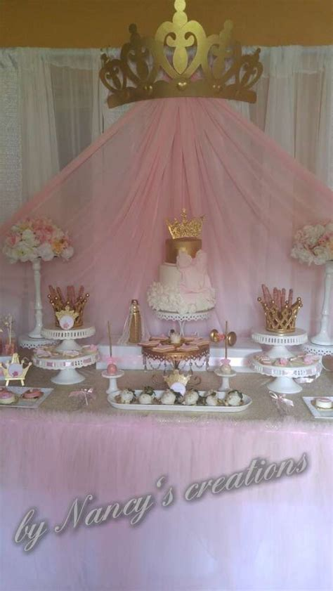 Princess Theme Baby Shower Decoration Ideas by Princess Baby Shower Ideas Princess Baby Showers