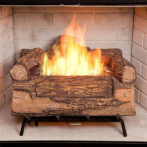 duraflame fireplace logs duraflame illuma bio ethanol fireplace log set 231 06