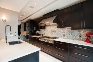 long kitchen with espresso cabinets kitchen ideas mikes kitchen cabinets westport ct to long island ny