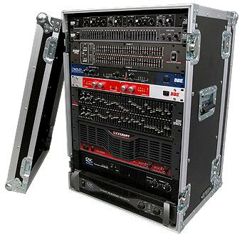 Pro Audio Rack by Road Ready Road Ready Cases Pro Audio Deluxe Effects