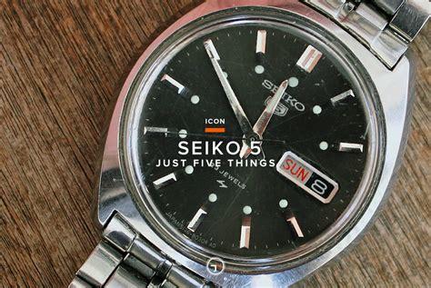 Timekeeping Icon: Seiko 5 ? Gear Patrol