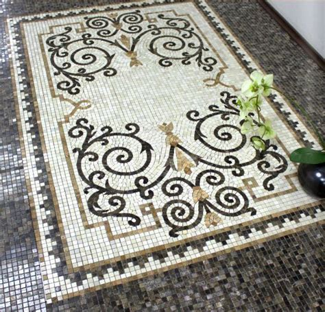 ttees meaning the best 28 images of mosaic tile rug floral mosaic tile