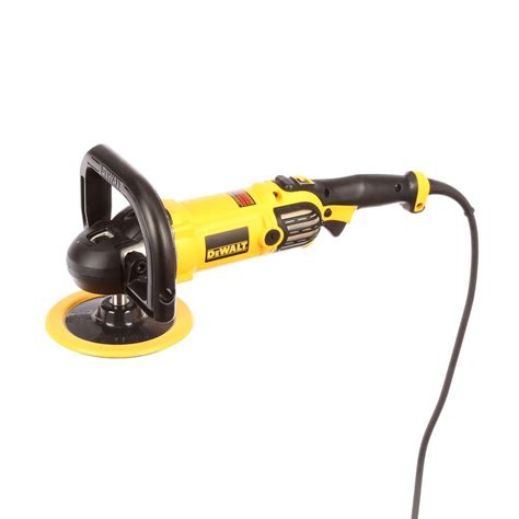 dewalt 12 7 in 9 in variable speed polisher with
