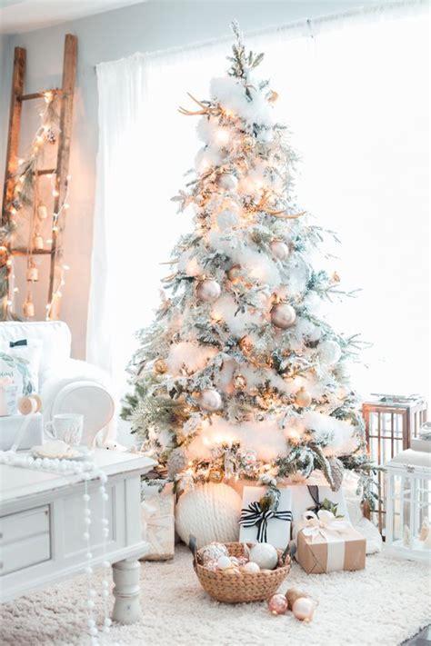 decorar un arbol de navidad blanco como decorar un arbol de navidad azul plata y blanco natal