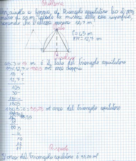 il triangolo si testo didattica matematica scuola primaria dall area alla