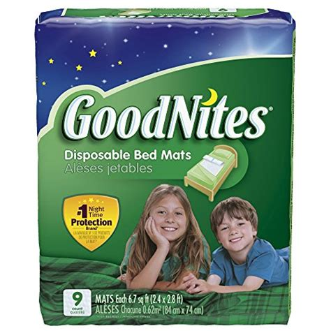 goodnites disposable bed mats goodnites disposable bed mats 36 count packaging may