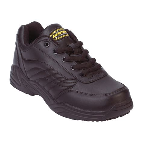 safetrax s non skid athletic shoe wide width