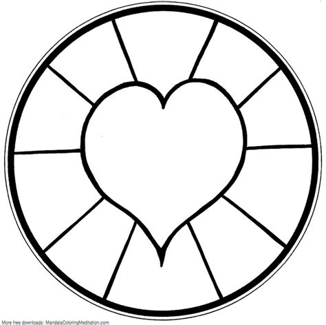 simple coloring pages for toddlers free free printable mandalas for kids best coloring pages for