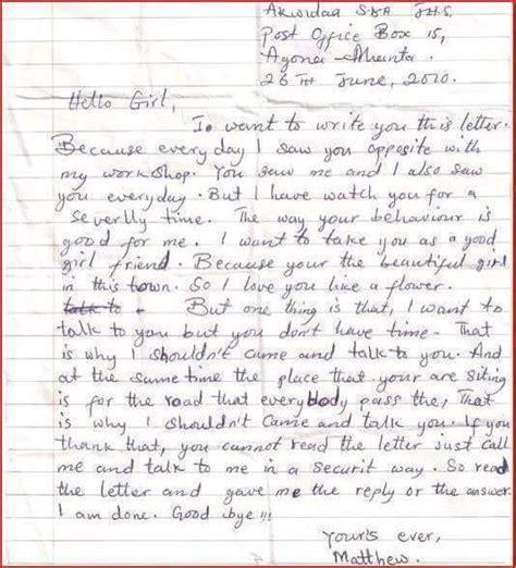 Letter For Crush