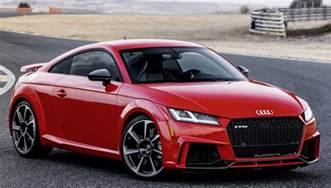Audi Ttrs 2018 Audi Tt Rs Overview Cargurus