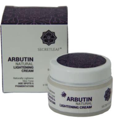 secretleaf cantik natural arbutin natural lightening cream