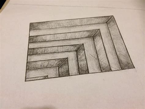 tutorial gambar 3d pencil drawing 3d pencil easy drawing of sketch