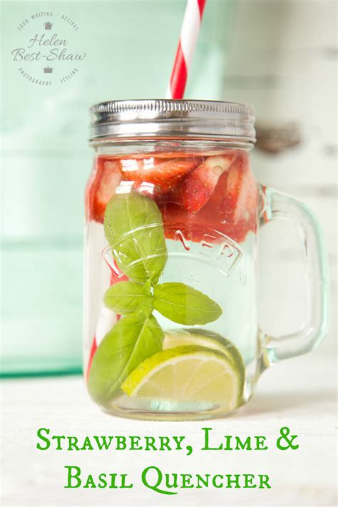 Detox Water Valentines by Recipe The Post Workout Strawberry Basil Infused Water
