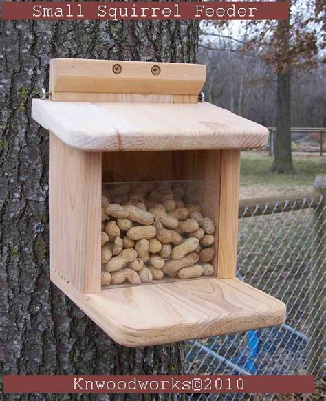 how to build squirrel feeder plans pdf plans